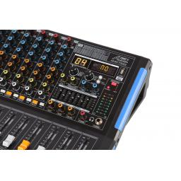 AUDIO2000S AMX7333- Professional Eight-Channel Audio Mixer with USB Interface, Bluetooth, and DSP