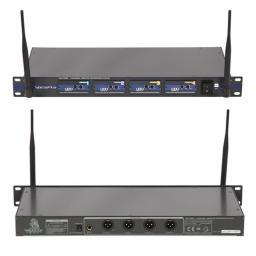 VOCOPRO UHF-5800 4-CHANNEL UHF WIRELESS MICROPHONE SYSTEM