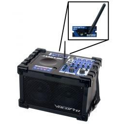 VOCOPRO JAMCUBE 100W STEREO All-IN-ONE KARAOKE MACHINE + BLUETOOTH & 2 MICROPHONES