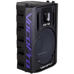 """VOCOPRO VX-12 PROFESSIONAL 12"""" 500 WATT VOCAL SPEAKER (PAIR)"""