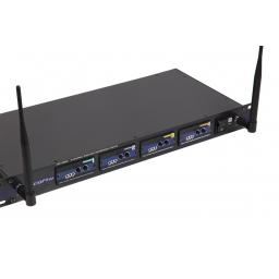 VOCOPRO UHF-5800 4-CHANNEL UHF WIRELESS MICROPHONE SYSTEM