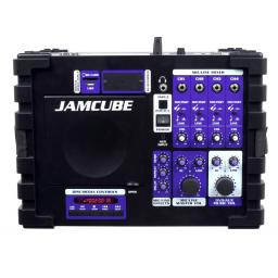 VOCOPRO JAMCUBE 100W STEREO All-IN-ONE KARAOKE MACHINE + BLUETOOTH & 365 KARAOKE SONG