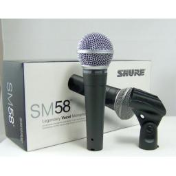 SHURE SM58 LEAD MICROPHONE + XLR 6 METER LEAD