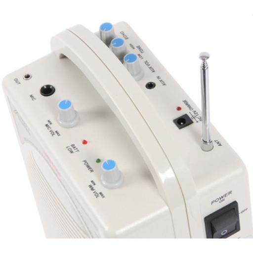AUDIO2000 BLUELASER 6040 PORTABLE MIDI PA SYSTEM