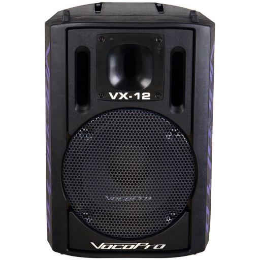 "VOCOPRO VX-12 PROFESSIONAL 12"" 500 WATT VOCAL SPEAKER (PAIR)"