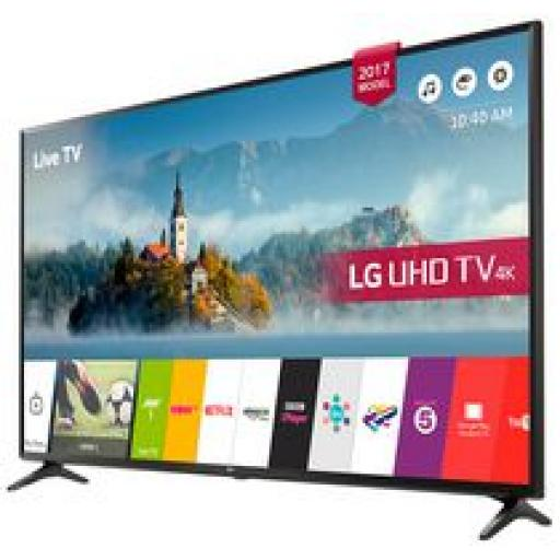 "LG 49"" 4K Ultra HD Smart HDR TV Freeview HD - 49UJ630V"