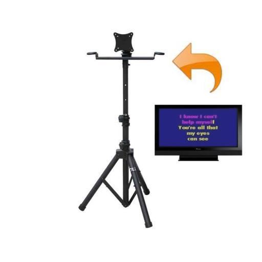 AUDIO2000s FLATSCREEN TV BRACKET (FITS TO STANDARD SPEAKER STAND)