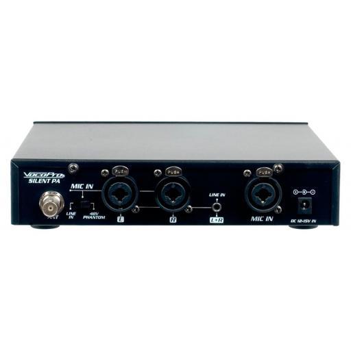 VOCOPRO SilentPA-PRACTICE 16CH UHF Wireless Audio Broadcast System