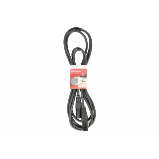 CHORD CLASSIC XLR TO XLR LEAD MALE TO FEMALE 3 METERS