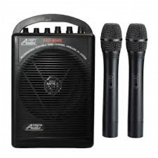 AUDIO2000S 6040B - PORTABLE RECHARGEABLE P A SYSTEM