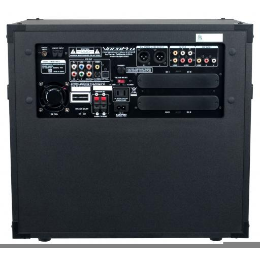 VOCOPRO HERO-REC KARAOKE MACHINE + 2 MICROPHONES & 500 KARAOKE TRACKS