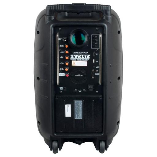 Vocopro K-CAST Worlds First Battery Powered Portable PA with LED Video Projector
