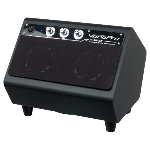 VOCOPRO PV-WEDGE 100W 2.1 Powered speaker with build-in subwoofer