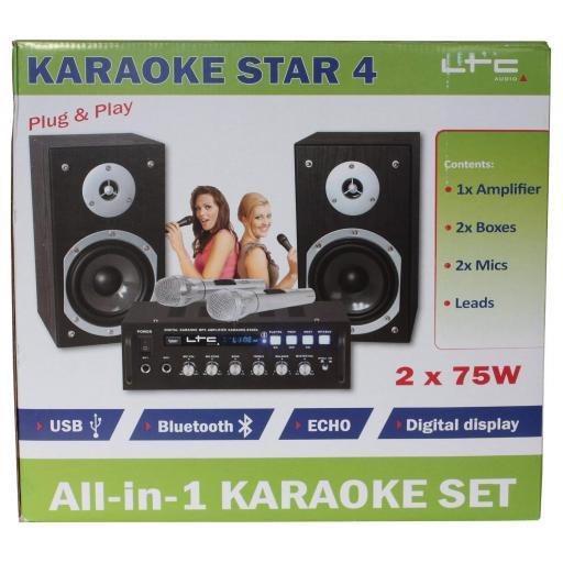 Acesonic Ltc karaoke system + 500 karaoke songs + 2 Microphones, included the DGX220, karaoke player