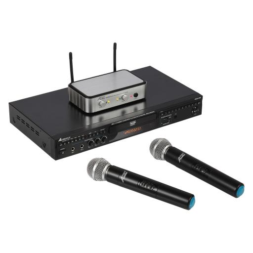 ACESONIC DGX220 KARAOKE PLAYER & AUDIO2000SVOCOPRO DIGITAL-32-ULTRA & 500 KARAOKE SONGS