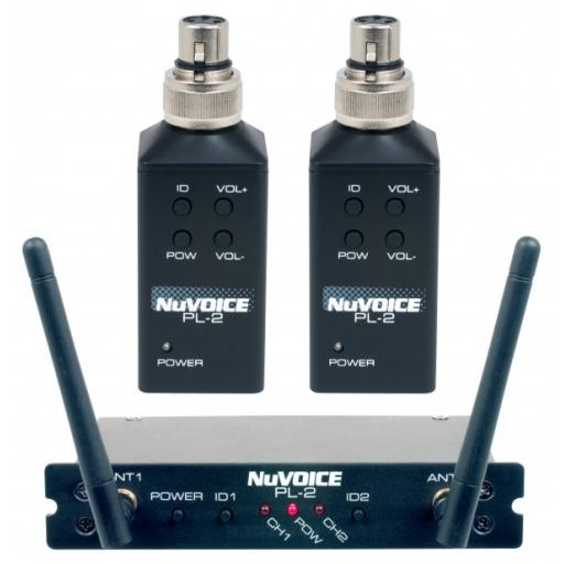 Vocopro PL-2 wireless twin transmitter