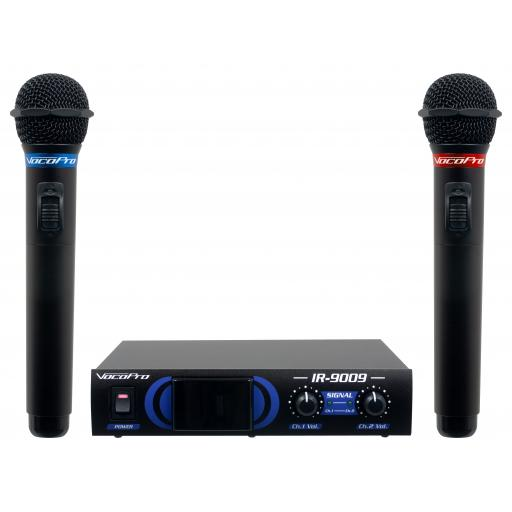VocoPro IR-9009 Infrared Dual Wireless Microphone System