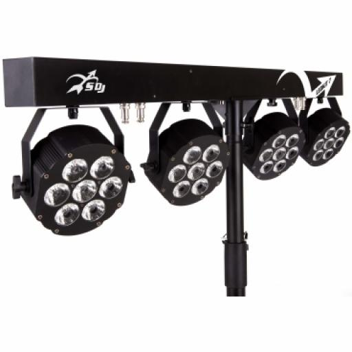 SAGITTER LEDKITHP7 KIT 4X10 WATT LED RGBW