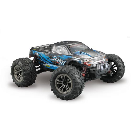 Bluelaser-Rc Car 1:16 Radio Controlled Off-Road RC Car Monster Truck Rc high speed RTR 25mph 4WD 2.4GHz Remote control truck 9130, cross country car for children and adults (blue)