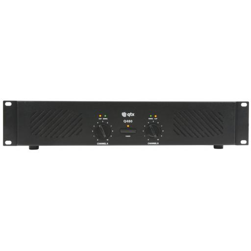 QTX Q480 2U POWER AMPLIFIER