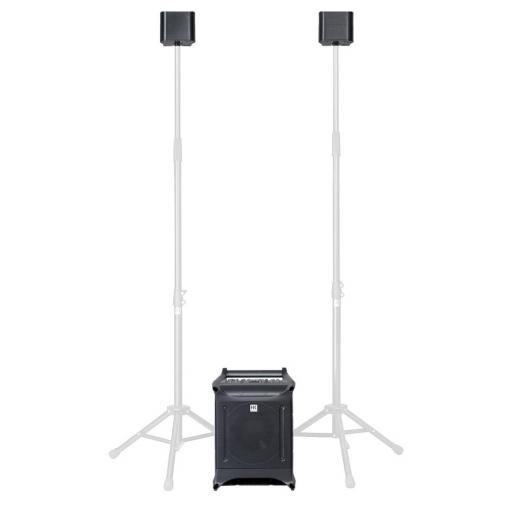 Hk Audio Lucas Nano 305FX Package includes RB Nano Roller bag + AP Nano3 speaker stands