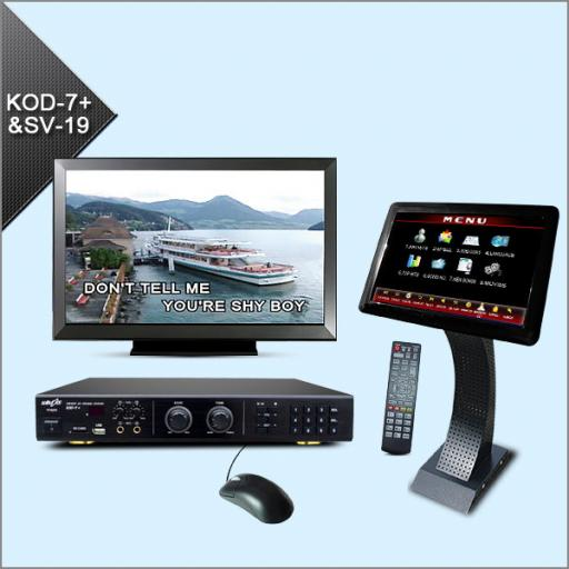 BLUELASER KOD7 + KARAOKE TOUCH SCREEN MACHINE + 1000 KARAOKE TRACKS