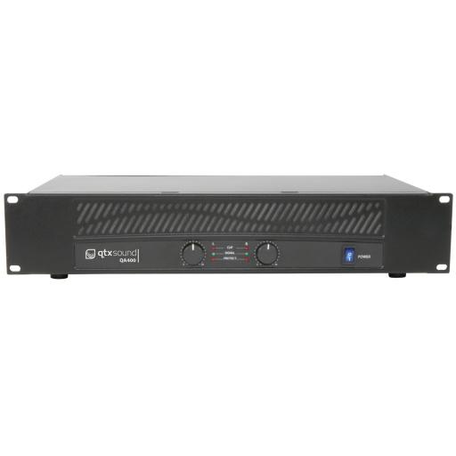 QTX QA400 2U POWER AMPLIFIER
