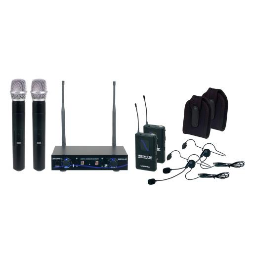 Vocopro DIGITAL-32-ULTRA All Inclusive Dual channel digital wireless handheld/headset/instrument system