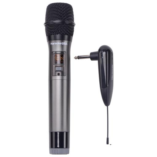 Karaoke USA VM900 900 MHz UHF Wireless Microphone