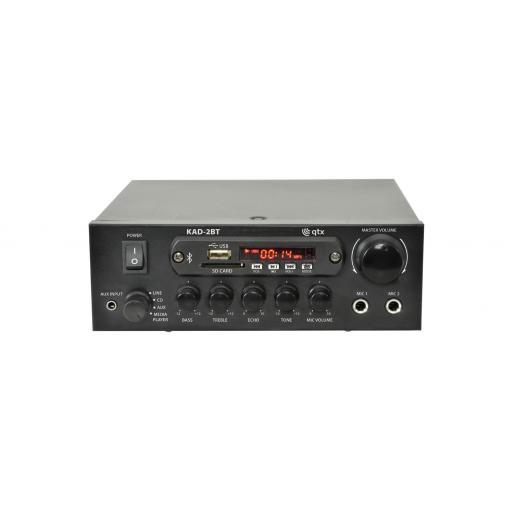 QTX Karaoke Digital Stereo Amplifier with Bluetooth