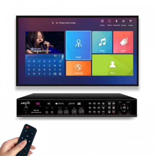 KARAOKEUK NEW 2021 4K KARAOKE PLAYER SYSTEM KTV HDD JUKEBOX ANDROID MACHINE